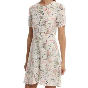 Nwt the kooples silk floral dress